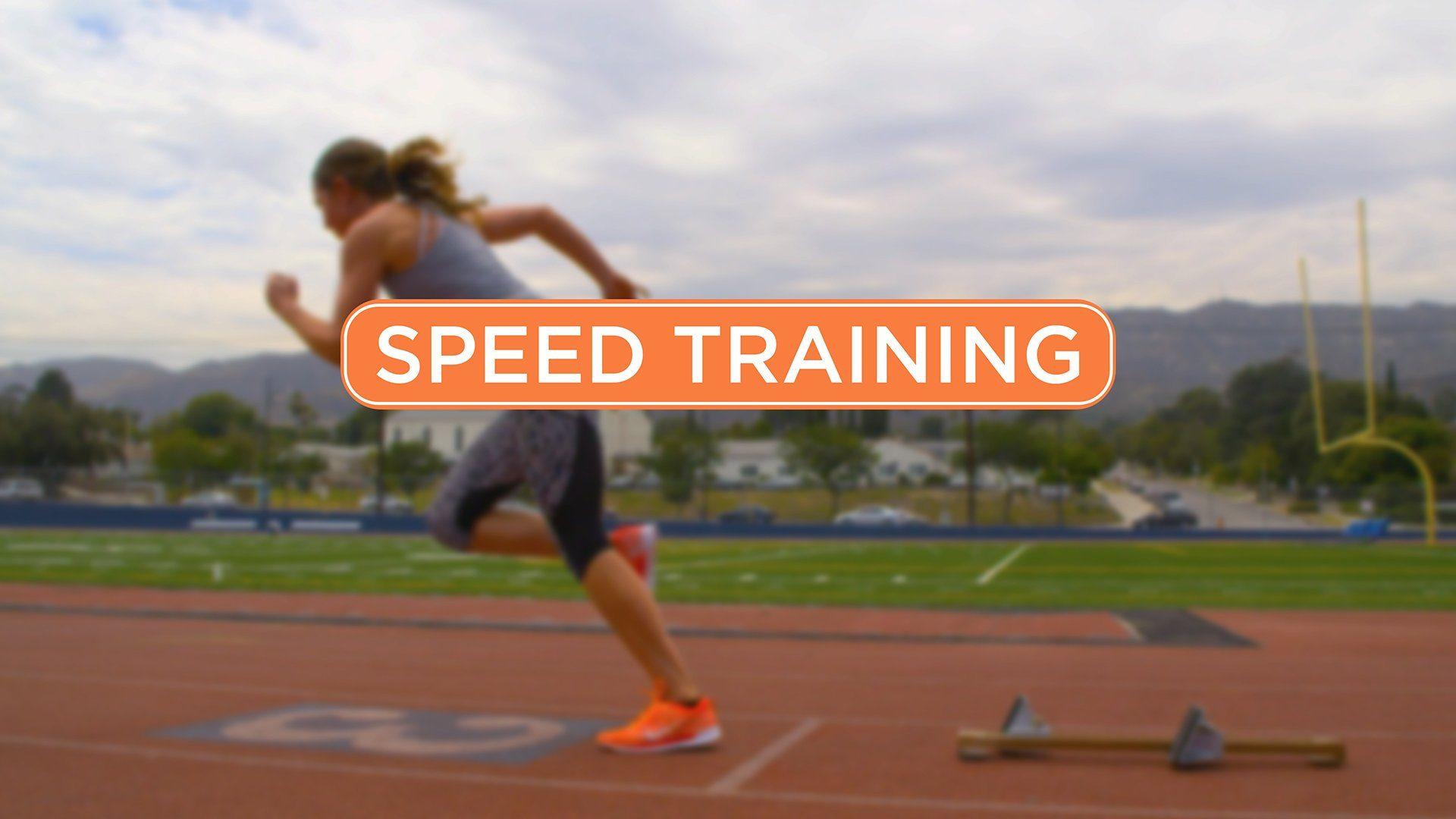 4 week speed training program